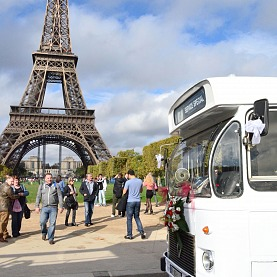location bus mariage paris classic tour - Paris Classic Tour